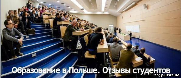 Образование в Польше для украинцев, отзывы
